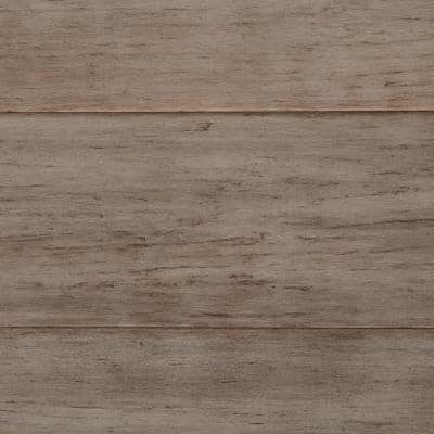 5.125 in. W Cottage Corner Hand Scraped Strand Woven Engineered Click Bamboo Flooring (25.61 sq. ft./case)