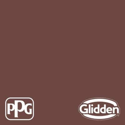 1 qt. PPG1060-7 Warm Mahogany Satin Interior Paint with Primer