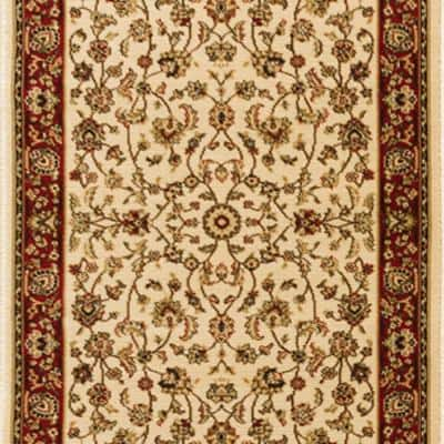 Sapphire Sarouk Ivory 26 in. x Your Choice Length Stair Runner