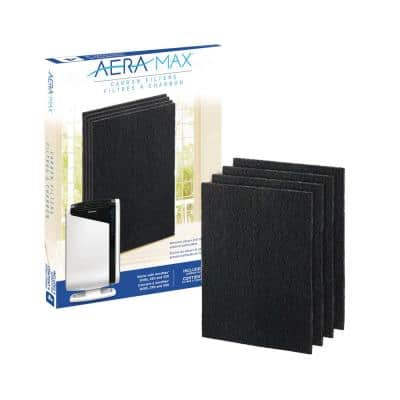 AeraMax Carbon Filter for 290/300/DX95 Air Purifiers (4-Pack)