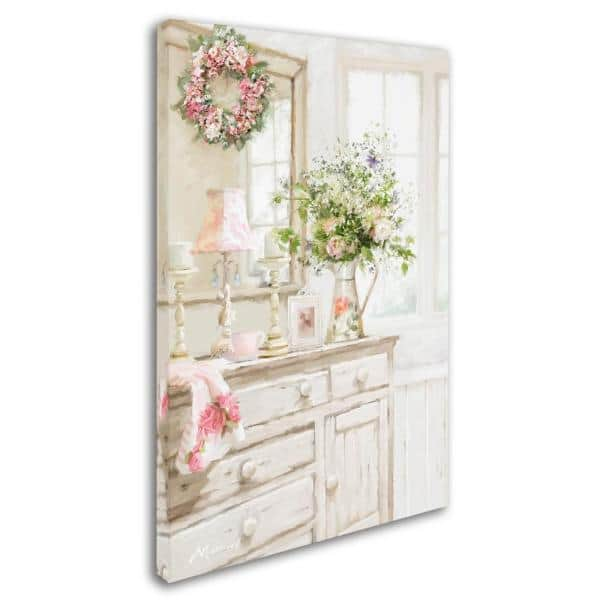 Trademark Fine Art 24 In X 16 In Shabby Chic By The Macneil Studio Printed Canvas Wall Art Ali8520 C1624gg The Home Depot