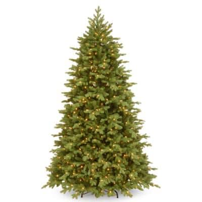 6-1/2 ft. Feel Real Princeton Fraser Fir Hinged Tree with 700 Dual Color LED Lights and PowerConnect