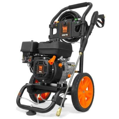 Gas-Powered 3200 PSI 208 cc Pressure Washer, CARB Compliant