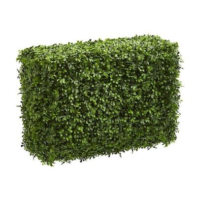 Indoor 30 in. Eucalyptus Artificial Hedge
