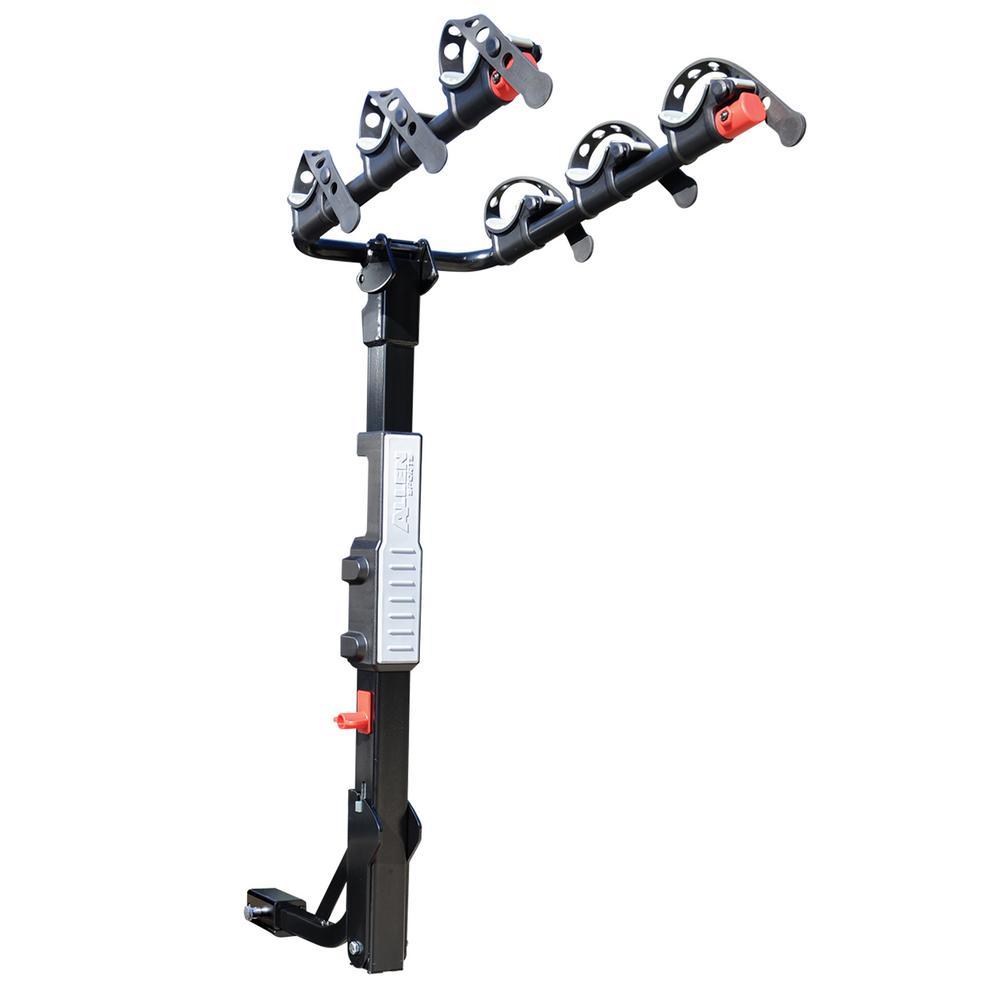 105 lbs. Capacity 3-Bike Vehicle 2 in. and 1.25 in. Hitch Premier Bike Rack