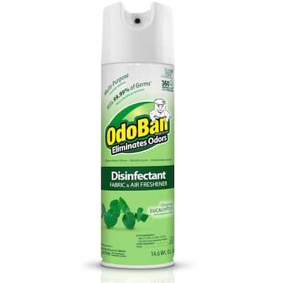 14.6 oz. Eucalyptus Disinfectant, Fabric and Air Freshener Multi-Purpose Continuous Spray