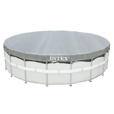 18 ft. Round Ultra Frame Swimming Pools UV Resistant Deluxe Debris Above Ground Leaf Cover (3-Pack)
