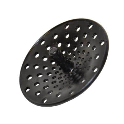 Concave Garbage Disposal Strainer in Black