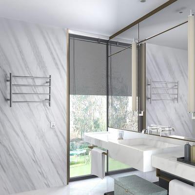 Glow 4-Bar Electric Towel Warmer in Brushed Nickel