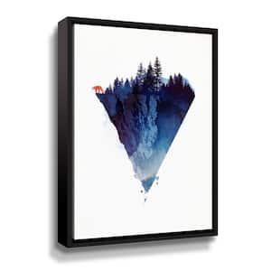 'Near to the edge' by  Robert Farkas Framed Canvas Wall Art