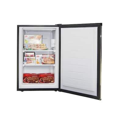 3.0 cu. ft. Upright Freezer inStainless Steel