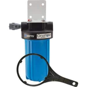 OneFlow Anti-Scale Water Filtration System For Tankless Water Heaters for up to 5 GPM