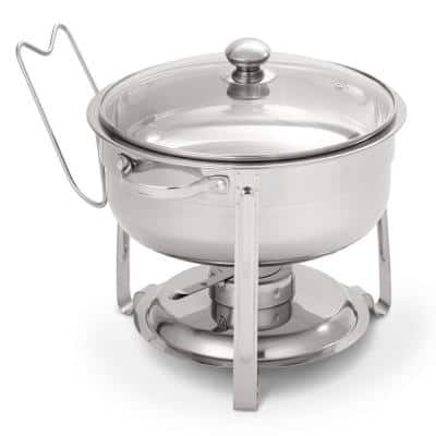 Sangerfield 4.5 Qt. 6-Piece Stainless Steel Chafing Dish Set