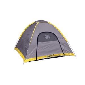 2-Person to 3-Person 2-Windows Dome Style Tent