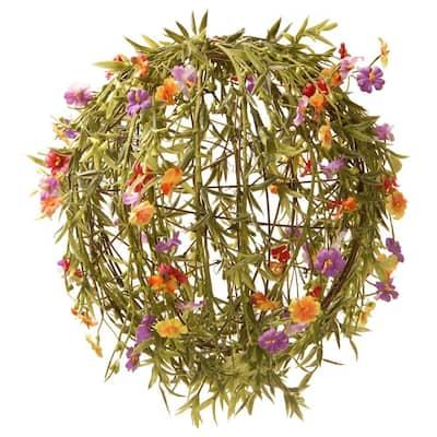 12 in. Garden Accents Flower Ball
