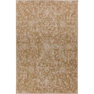 Addison Rugs Fergus 7 Camel 3 Ft 1 In X 5 Ft 1 In Area Rug Hdfg7ca3x5 The Home Depot