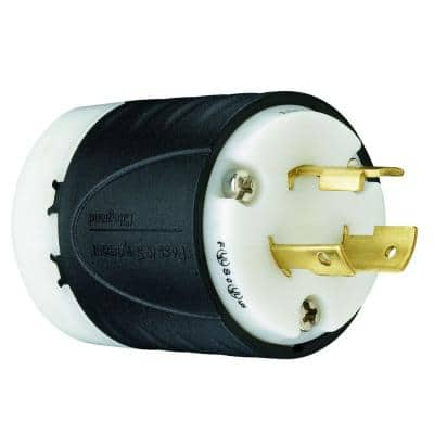 Pass & Seymour Turnlok 20 Amp 125-Volt NEMA L5-20P Locking Plug