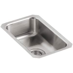 Undertone Undermount Stainless Steel 11 in. Single Basin Kitchen Sink