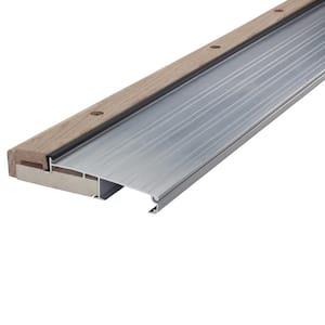 3 ft. x 5-5/8 in. x 1-1/8 in. Oak/Aluminum Threshold