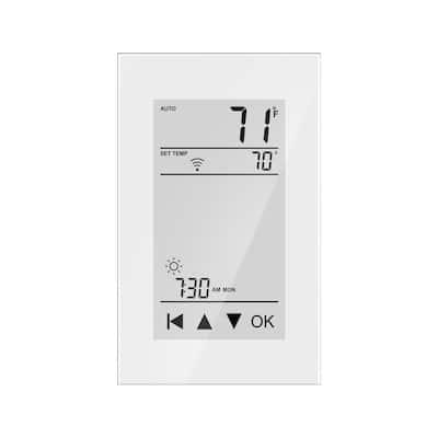 7-Day Smart Home Floor Heating Thermostat w/Floor Sensor