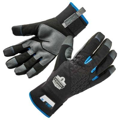 ProFlex 817 Small Black Reinforced Work Gloves