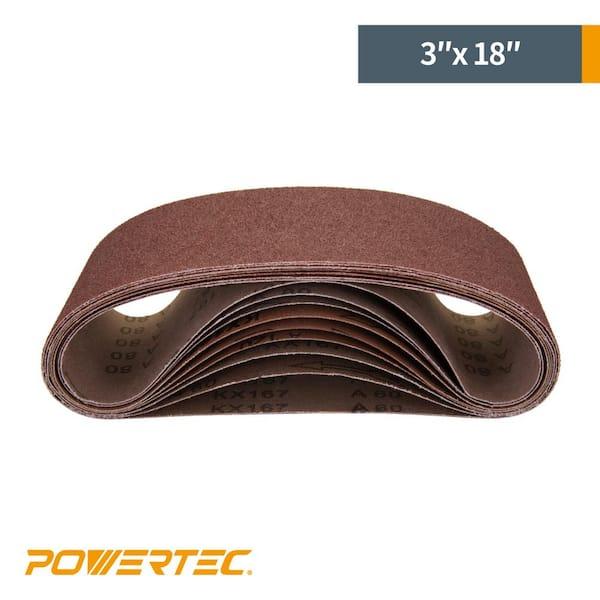 """Details about  /1/"""" x 18-15//16"""" 3M Ceramic 747D 100 Grit Premium Sanding Belts 3 Belts"""