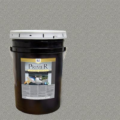 Textured 5 gal. Raw Gray Interior Exterior Bonding Primer Penetrating Anti-Slip