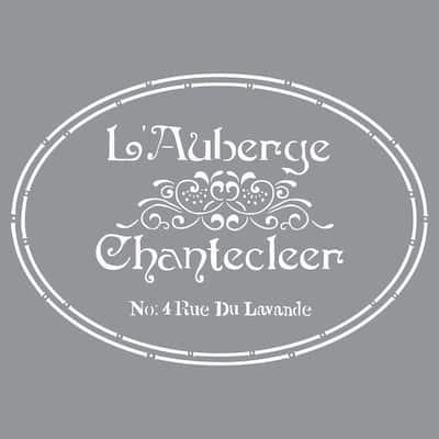 Americana Decor The French Inn Stencil