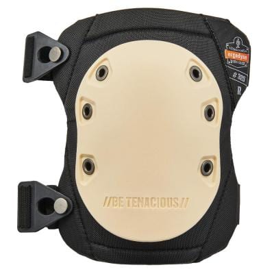 ProFlex Non-Marring Rubber Cap Knee Pads, Buckle