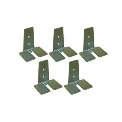 Clearly Secure 3 in. Glass Block Anchors for Glass Block (5-Pack)