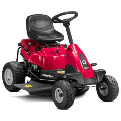 30 in. 382 cc Auto-Choke Engine 6-Speed Manual Drive Gas Rear Engine Riding Lawn Mower with Mulch Kit