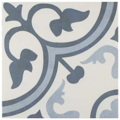 Amberes Azul 12 in. x 12 in. Ceramic Floor and Wall Tile (18.26 sq. ft. /Case)