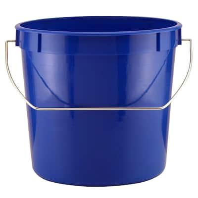 2.5 qt. Blue Pail with Handle (900 Units/Pallet)