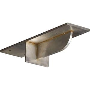 10 in. x 3 in. x 2 in. Stainless Steel Unfinished Metal Heaton Bracket