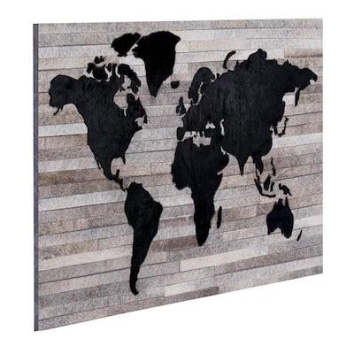 Grendon Handmade Leather Engineered Wood Wall Art