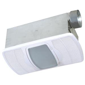 Deluxe Combination Heater 70 CFM Ceiling Bathroom Exhaust Fan with Light