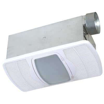 Deluxe Combination Heater 70 CFM Ceiling Bathroom Exhaust Fan with Light