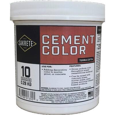 10 oz. Cement Color Terracotta