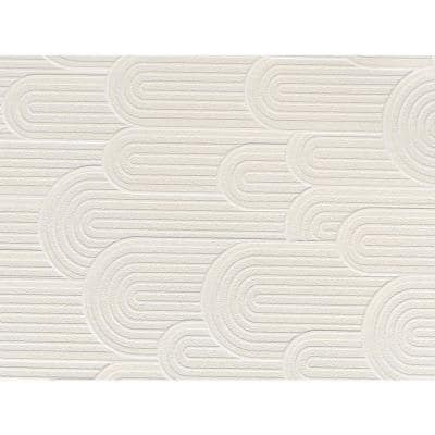 Retro Geometric Hills Paper Strippable Wallpaper (Covers 57 sq. ft.)