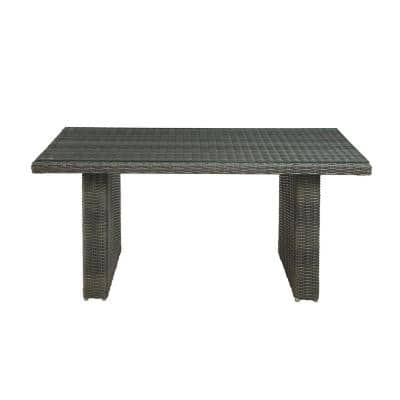 Asti All-Weather 26 in. H Wicker Outdoor Cocktail Table