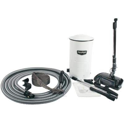BL38 Central Vacuum with Electric Power Head and Attachment Kit with Direct Connect Hose