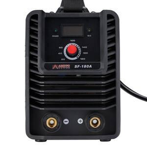 180 Amp Stick Arc MMA DC Welder, 110-Volt and 230-Volt Dual Voltage IGBT Digital Inverter Welding Machine