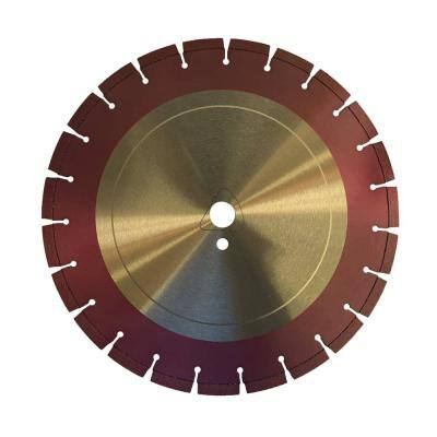 8 in. Green Concrete Diamond Saw Blade for Early Entry Cutting - Ultra Soft Bond