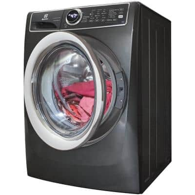 4.5 cu. ft. High-Efficiency Stackable Front Load Washer in Titanium with SmartBoost, ENERGY STAR