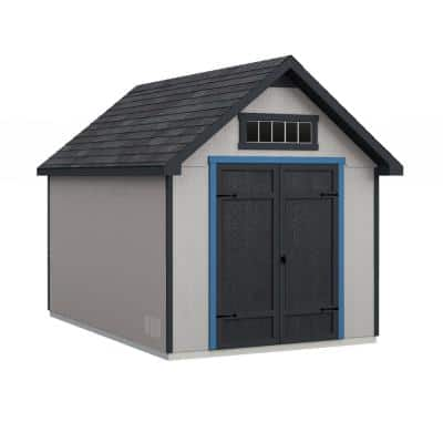 Do-it Yourself Tribeca 8 ft. x 12 ft. Wooden Storage Shed