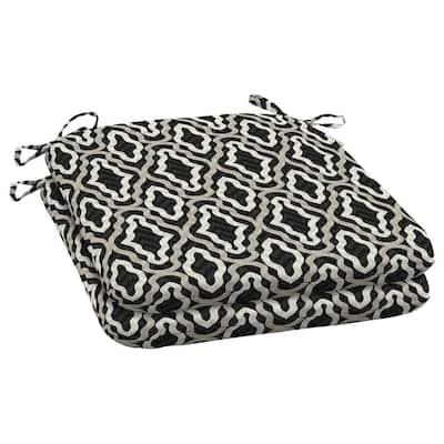 DriWeave Amalfi Trellis Outdoor Square Seat Pad (2-Pack)