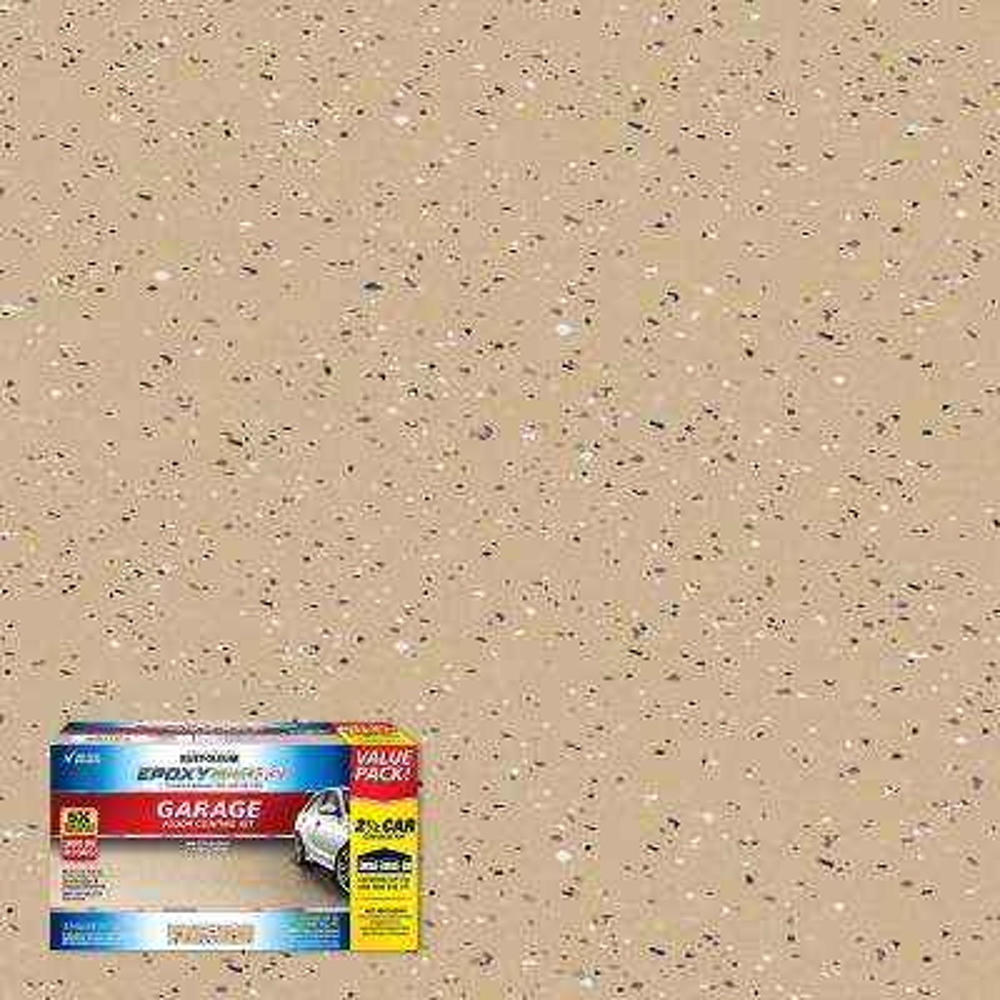 240 oz. Tan High-Gloss 2.5-Car Garage Floor Kit