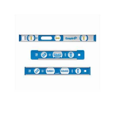 24 in. Aluminum I-Beam Level with 9 in. Torpedo Level and 12 in. Magnetic Tool Box Level