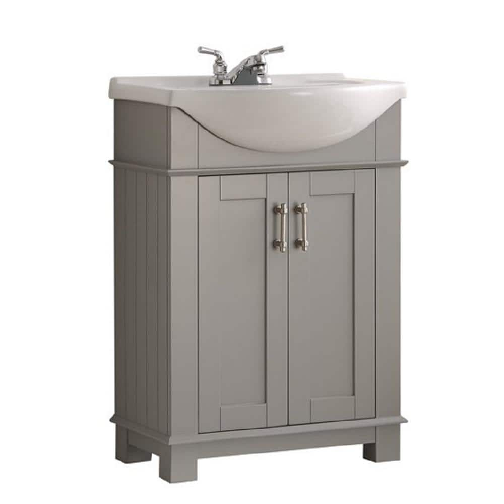 Traditional Bathroom Vanity, Home Depot Bathroom Vanities 24 Inch