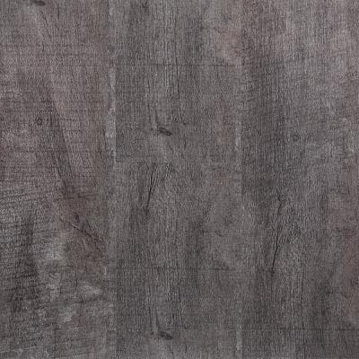 Twilight Gray 5.91 in. x 48 in. HDPC Floating Vinyl Plank Flooring (19.69 sq. ft. per case)